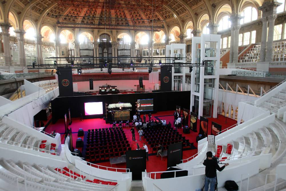 Venue of Bacardi Global Legacy Competition 2011 in Barcelona