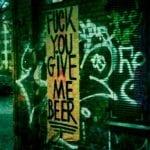 Beer Graffiti in Berlin