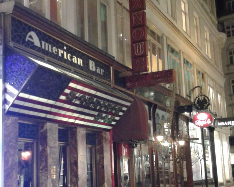 Loos Bar in Wien