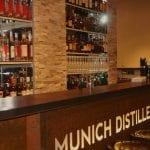 Distillers Bar München, Bartresen