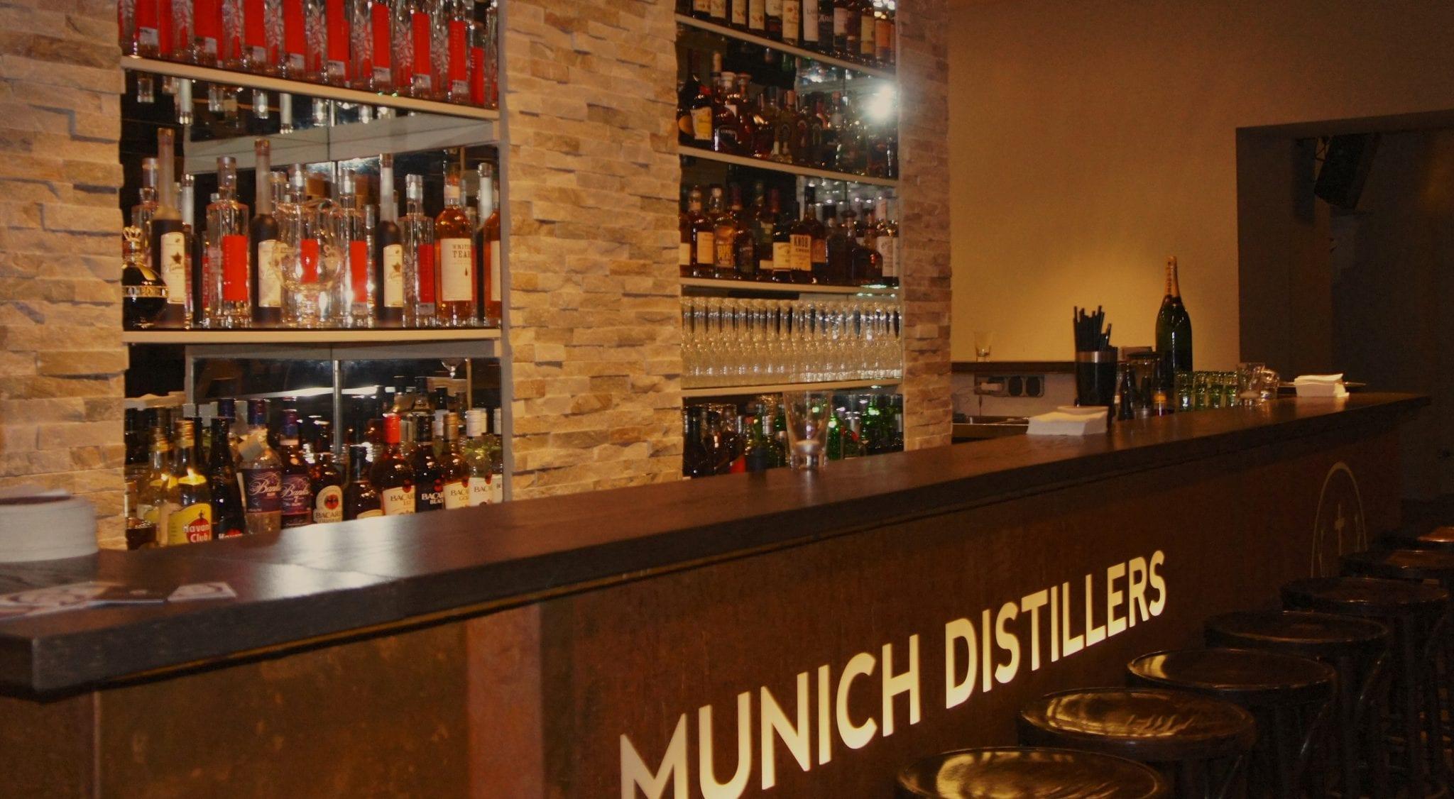 Munich Distillers Bar. A bissl was geht immer an der Münchner ...