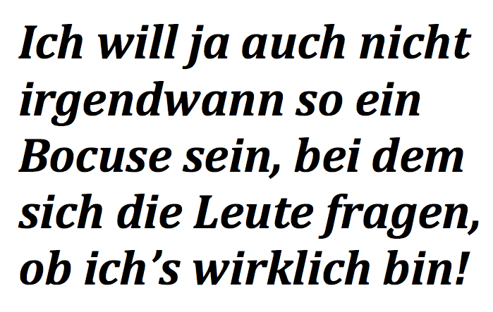 Schumanns Bargespräche