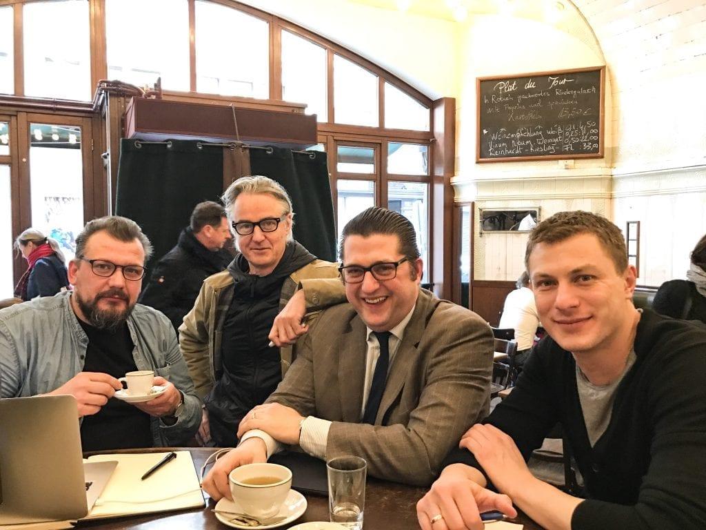 Sven Sudeck,Joerg Meyer, Rainer Wendt, Andrej Busch