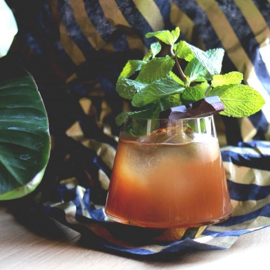 Chocolate Chili Mai Tai