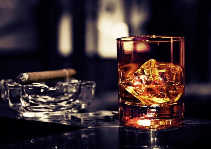 Cocktails und Zigarren