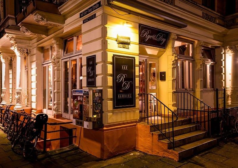Rye Dry Bar In Hamburg Salonatmosphäre Und Für Jeden Was Dabei