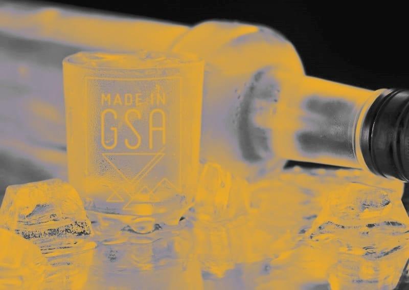 Made in GSA Vodka Korn