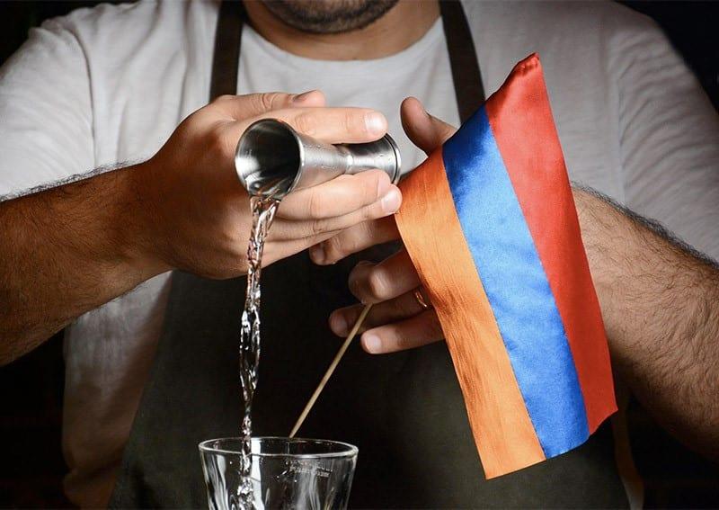 Bars in Jerewan Armenien