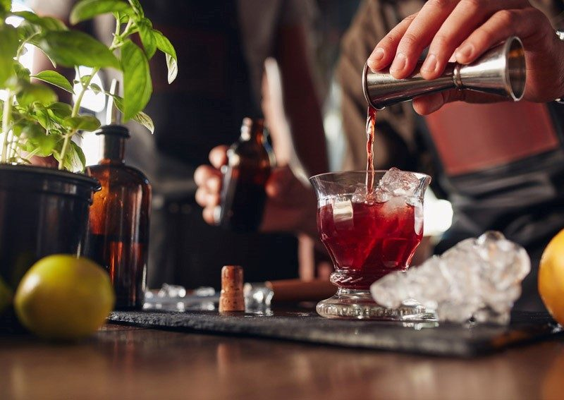 Cuisine Style in der Bar