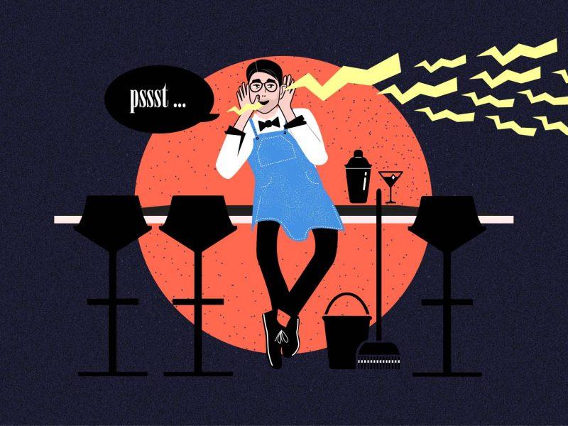 Bartender-Kolumne | Gossip aus dem Nachleben oder dieses Mal: In rotem Lack| Mixology — Magazin für Barkultur