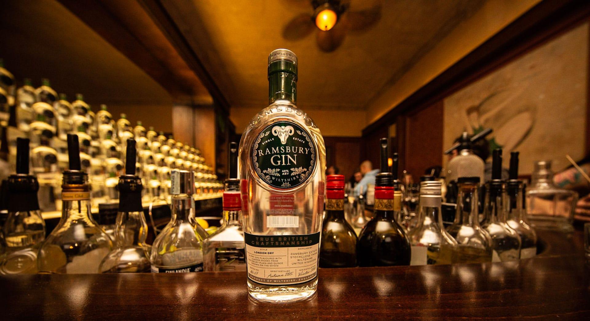 Ramsbury Gin Bar