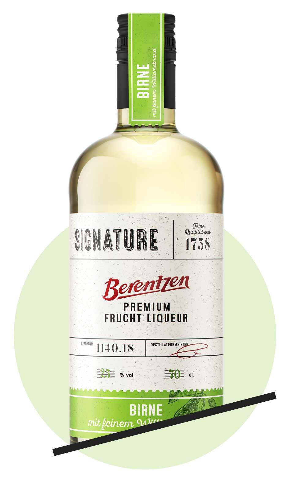 Berentzen Signature Premium Fruchtliqueur, Birne | Verkostungsrunde Spirituosen April 2019 | Mixology Magazin für Barkultur