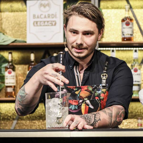 Andre Kohler Bacardí Legacy Global Cocktail Competition | Mixology — Magazin für Barkultur