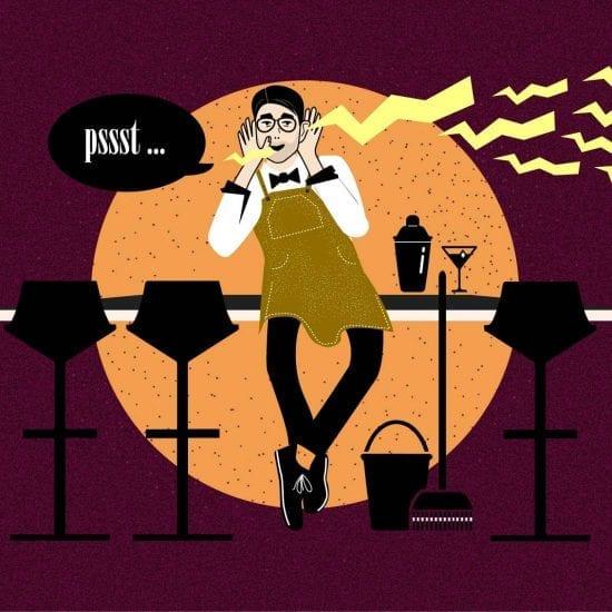 Bartender-Kolumne | Gossip aus dem Nachleben oder dieses Mal: Ein Koffer voll Geld| Mixology — Magazin für Barkultur