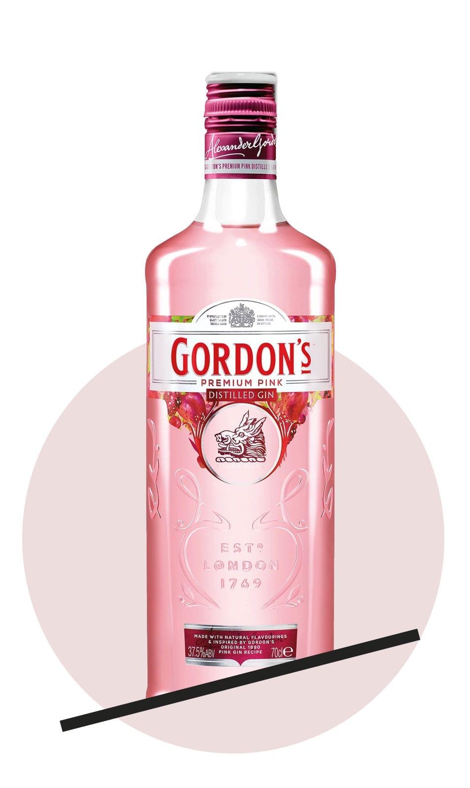 5 Pink Gins in der Verkostung