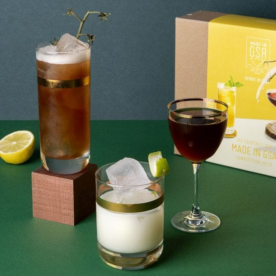 Drinksyndikat Made in GSA Cocktailset