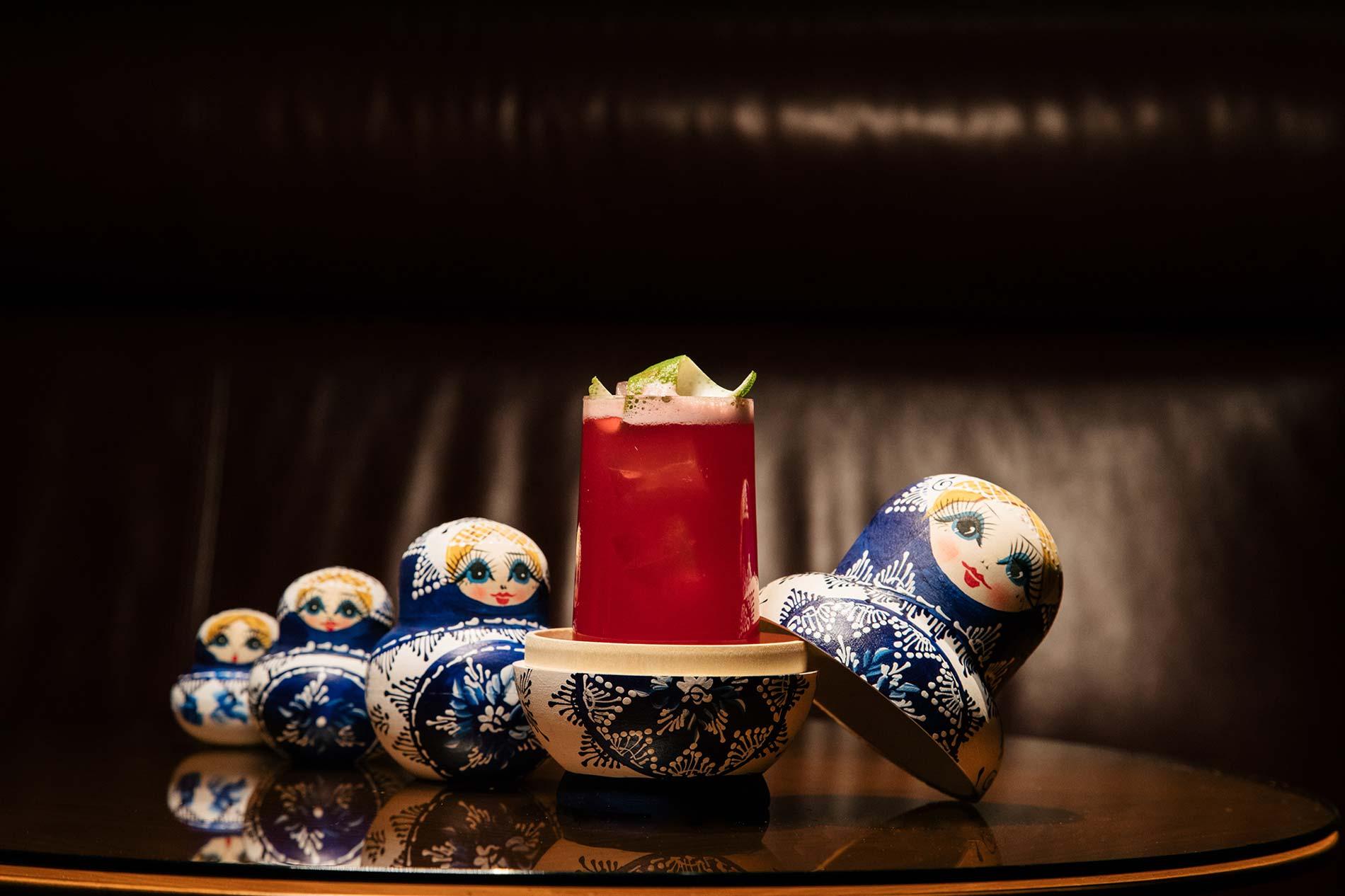 Florian Steflitsch zitiert mit seiner Spicy Matrjoschka russische Trinkkultur für Wien