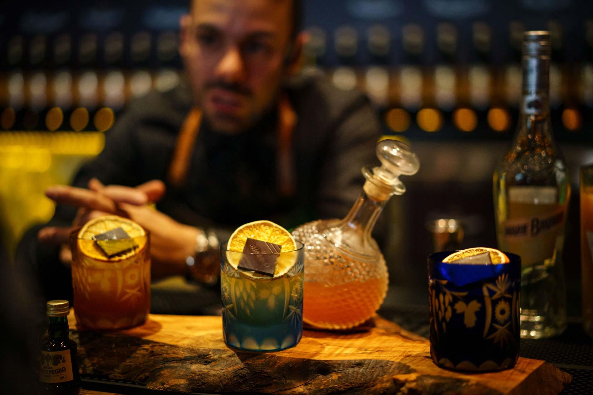 Amaro Montenegros The Vero Bartender: die nationalen Sieger