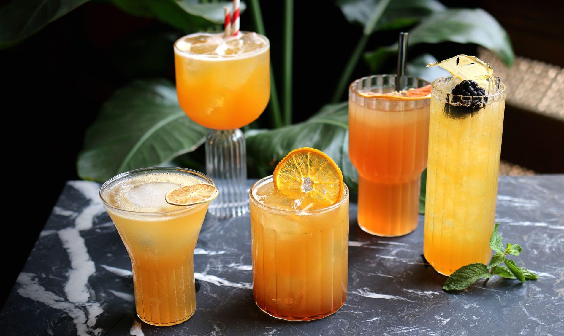 5 Rum Cocktails für den Herbst & Winter