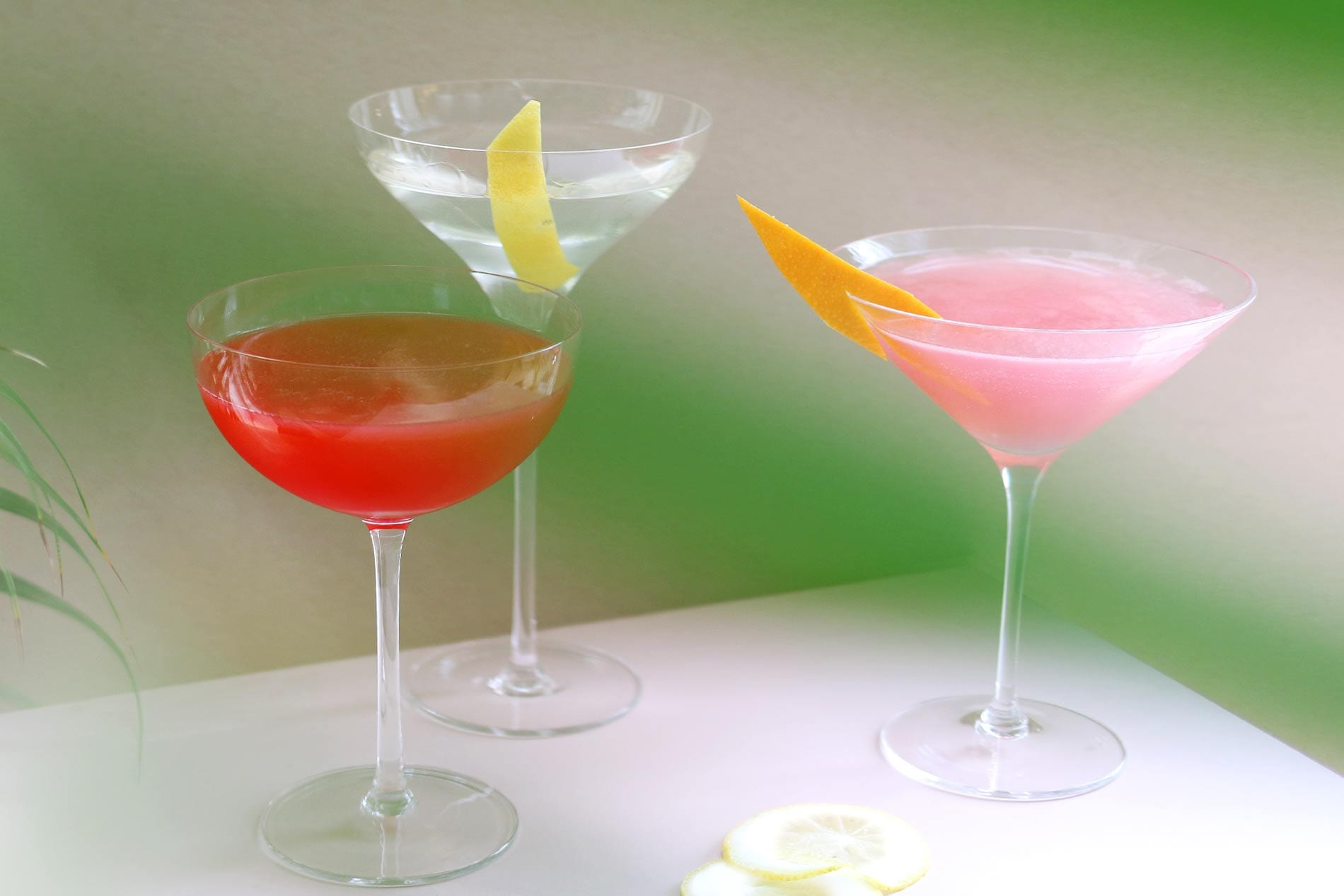 Drei Varianten Cosmopolitan