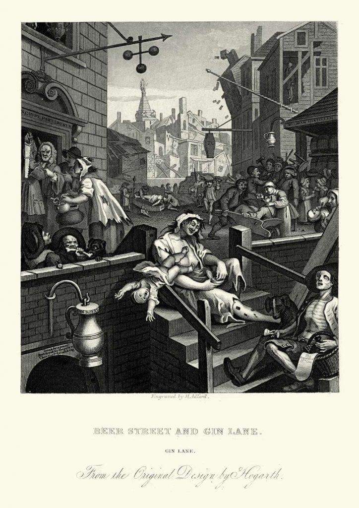Gin Lane Beer Street