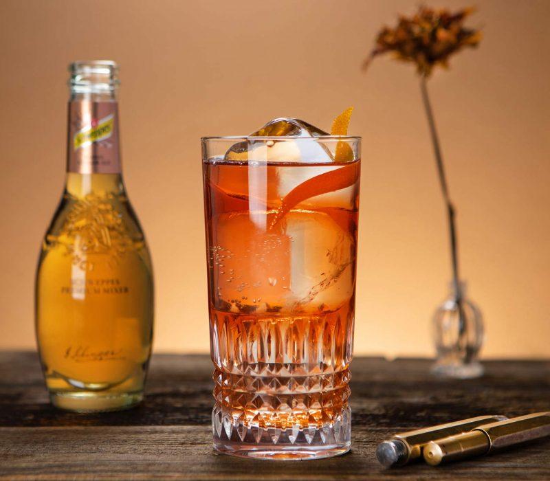 Schweppes Premium Mixer Barrel Ginger Ale: Der besondere Filler