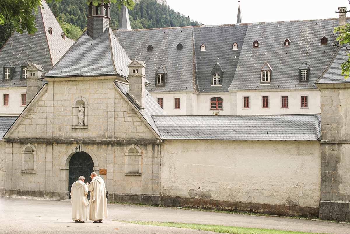 Chatreuse Kloser Mönche