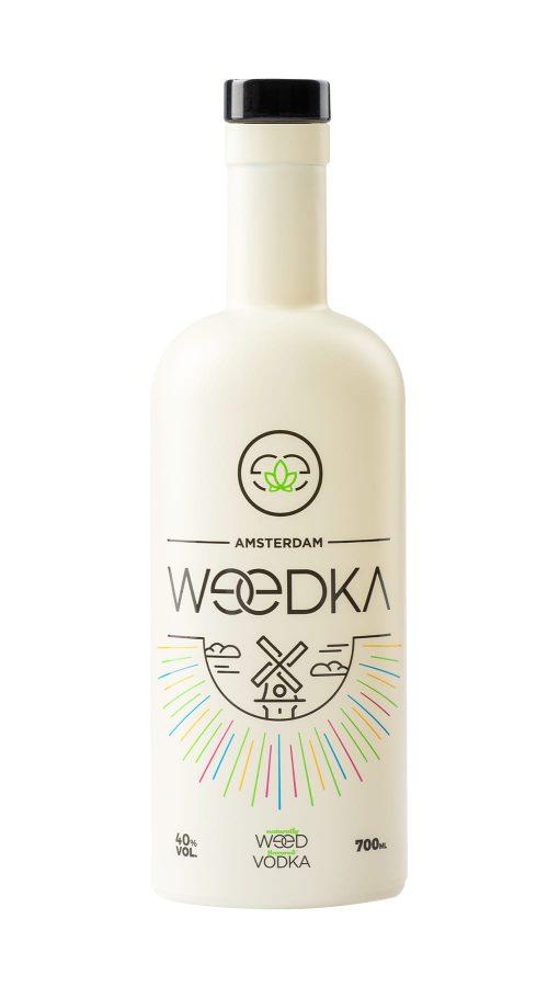 Weedka –mit natürlichem Cannabisöl aromatisierter Vodka aus den Niederlanden